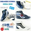 Stock Sneakers Donna B-Color